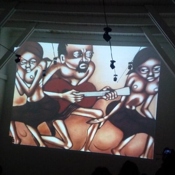 Charla Pintores de Mozambique