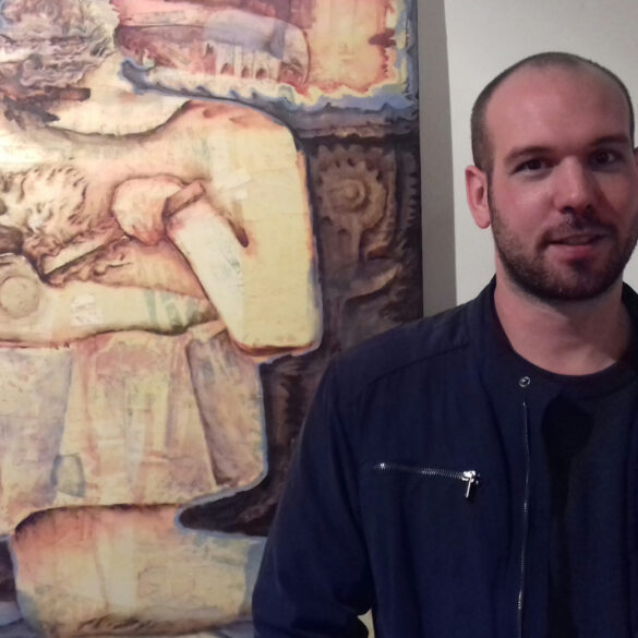 Charla Artista x Artista Ben Zawalich