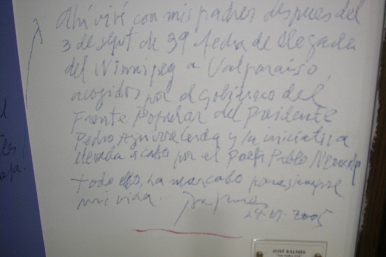 Homenaje a Balmes: Intervención en el Ministerio de Obras Publicas  – Obra San Isidro