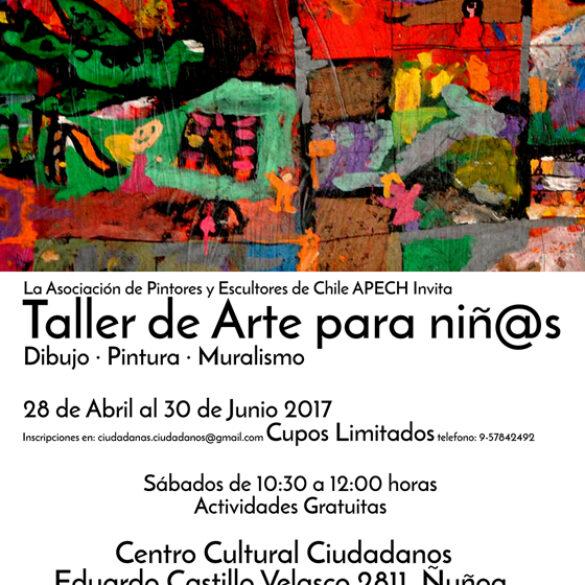 TALLER DE ARTE PARA NIÑOS EN CENTRO CULTURAL CIUDADANOS