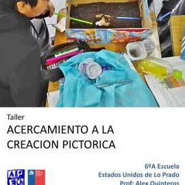 TALLER LO PRADO ESCUELA EE.UU APRECIACIÓN ARTÍSTICA