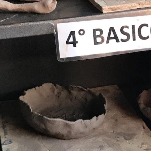 Taller de Cerámica Escuela El roto chileno de Talagante