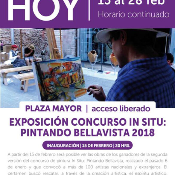EXPOSICIÓN PATIO BELLAVISTA