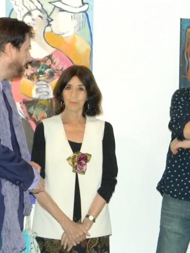 Irene Dominguez y Vicente Rioseco