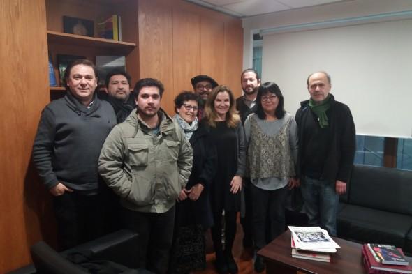 Reunión Ministra Alejandra Pérez Lecaros