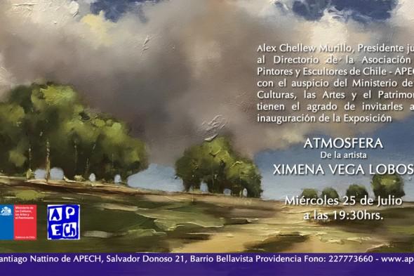 EXPOSICION ATMOSFERA DE XIMENA VEGA