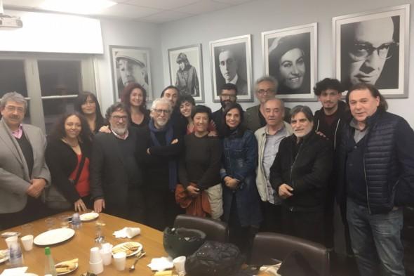 ReuniÓn UniÓn Nacional de Artistas UNA