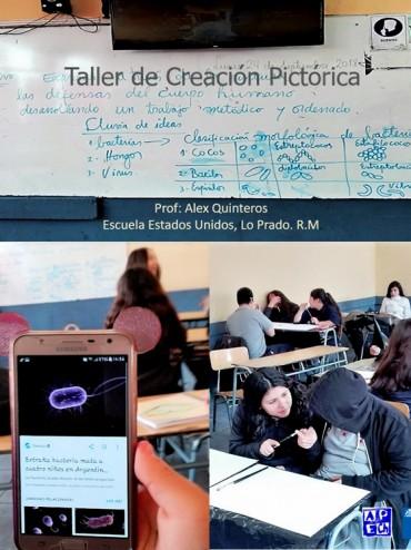 TALLER ESCUELA EEUU DE LO PRADO OCTUBRE