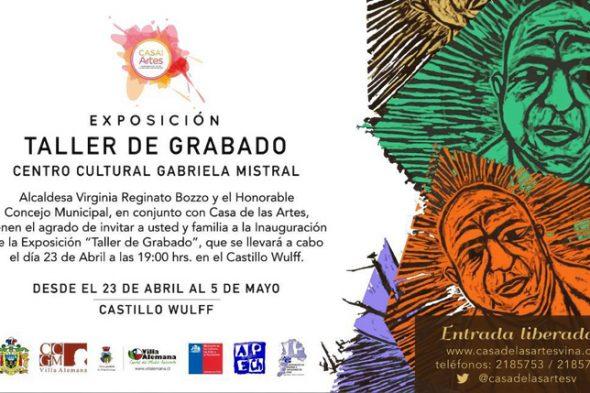 EXPO Y TALLER DE GRABADO VILLA ALEMANA