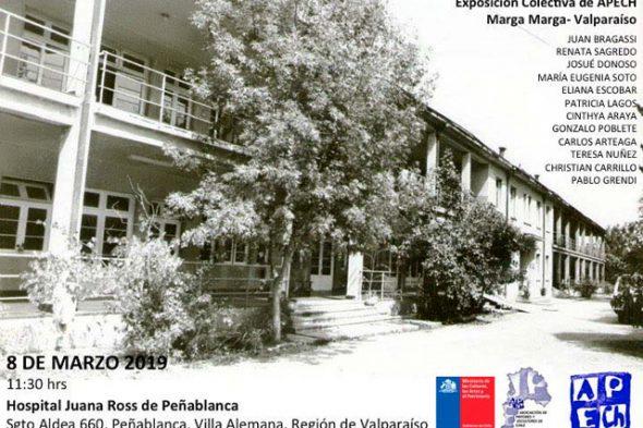 EXPOSICIÓN COLECTIVA APECH MARGA MARGA