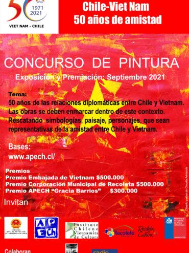 Concurso de Pintura CHILE- VIETNAM 50 AÑOS DE AMISTAD