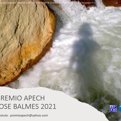 BASES PREMIO APECH JOSE BALMES 2021